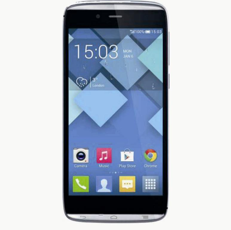 Сотовый телефон Alcatel OT6032X IDOL ALPHA  SLATE