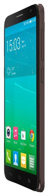 Сотовый телефон Alcatel OT6037Y IDOL2 Black Chocolate