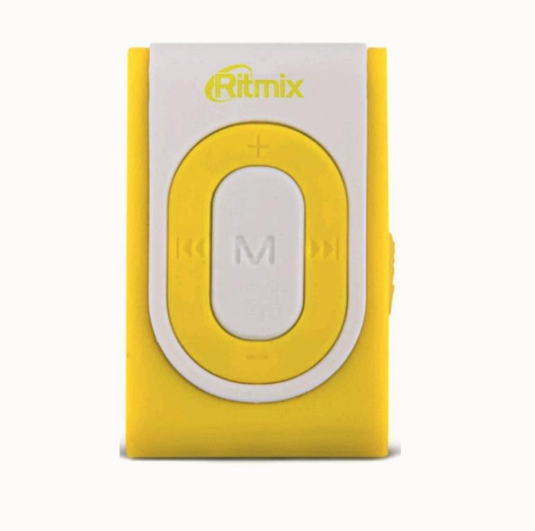 MP3 плеер RITMIX RF-2400 4 Gb white/yello