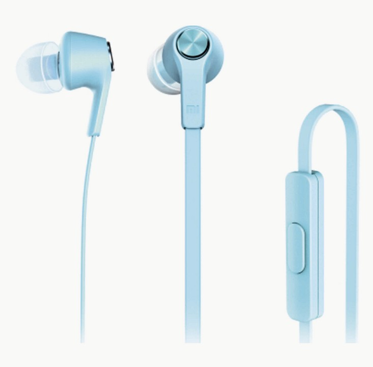 Гарнитура Xiaomi Refreshed Piston Earphone синяя