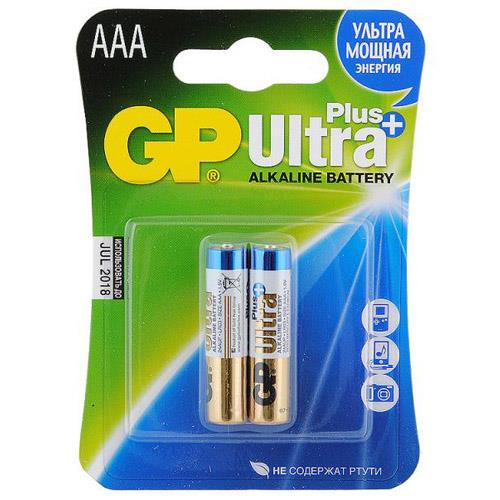 Батарея GP AAA Ultra plus (2400A) 2 шт