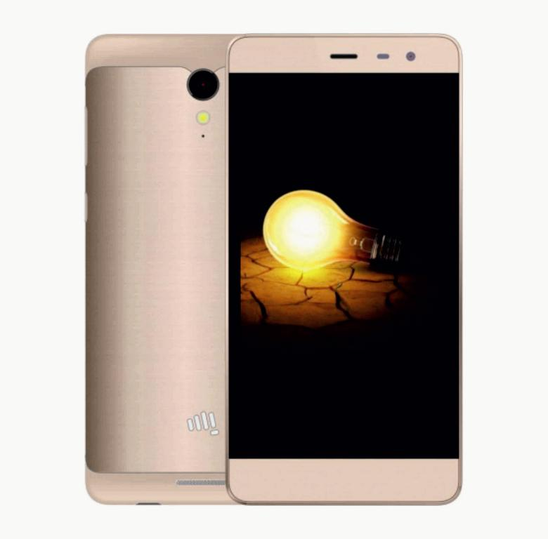 Сотовый телефон Micromax Q4202 BOLT Warrior2 Champagne Gold