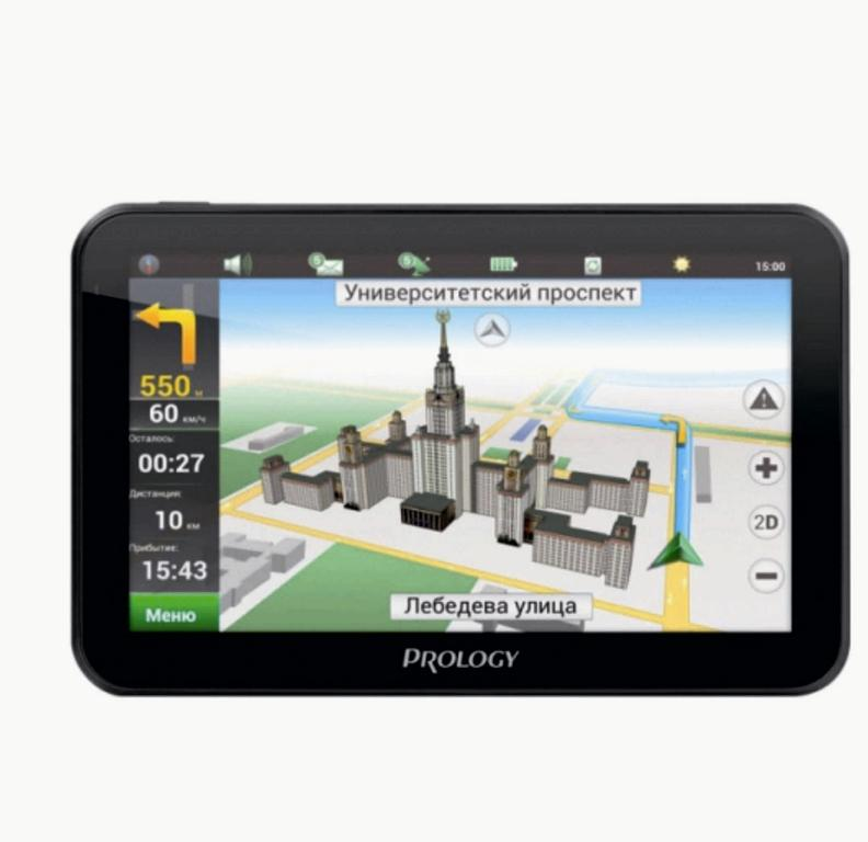 GPS навигатор Prology iMAP-5800 Black