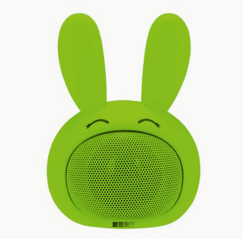 Портативная Bluetooth акустика 3W SBS-150 FUNNY BUNNY, салатовая