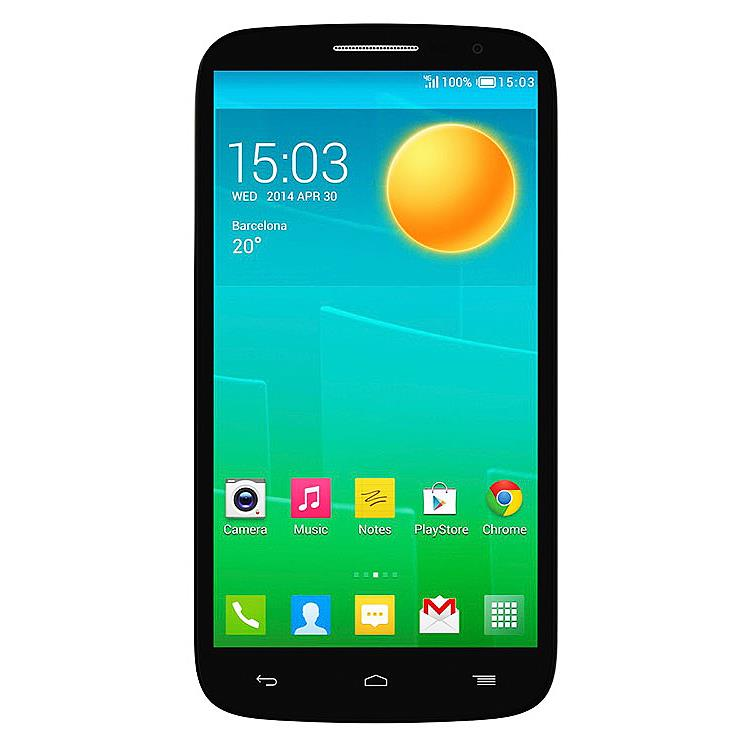 Сотовый телефон Alcatel OT7050Y POP S9  Black Dark Chocolate