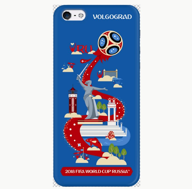 Накладка Deppa iPhone 7/8 FIFA Volgograd