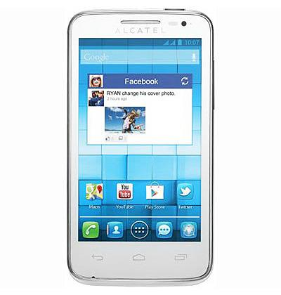 Сотовый телефон Alcatel OT4010D T-POP Pure White