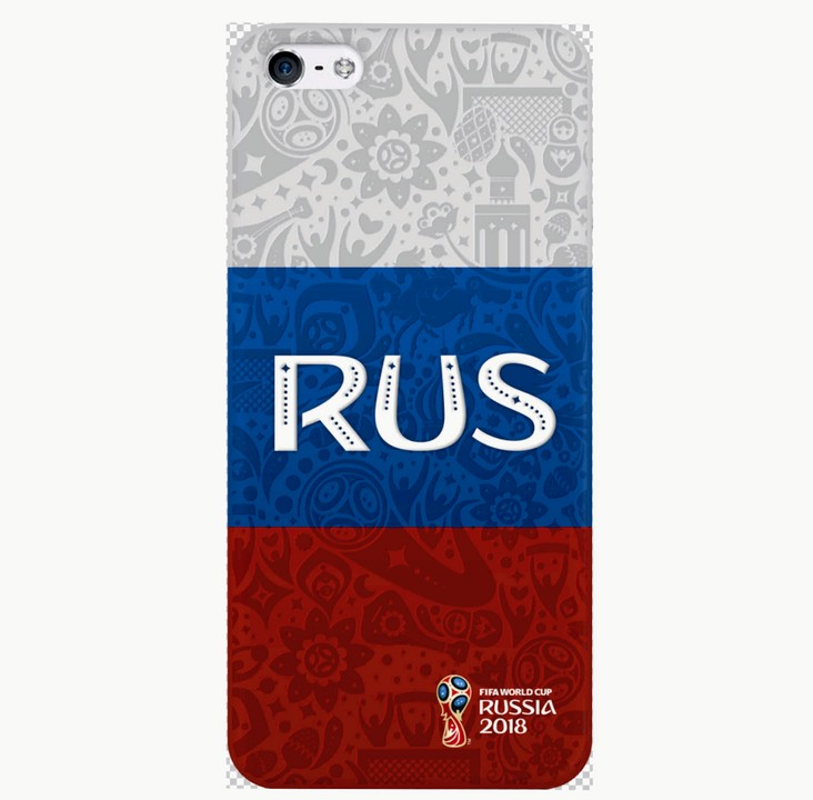 Накладка Deppa iPhone 6/6S FIFA Flag Russia