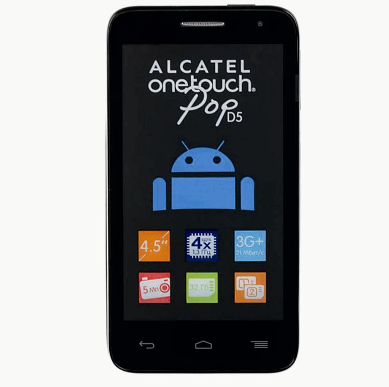 Сотовый телефон Alcatel OT5038D POP D5 Fashion Blue
