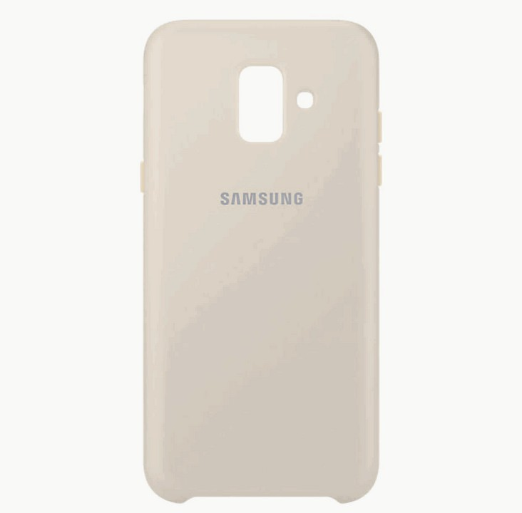 Накладка Samsung J400 2018 Dual Layer Cover золотая (EF-PJ400CFEGRU) оригинал