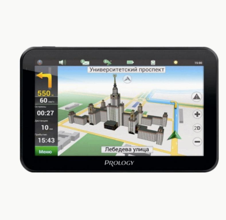 GPS навигатор Prology iMAP-5700 Black