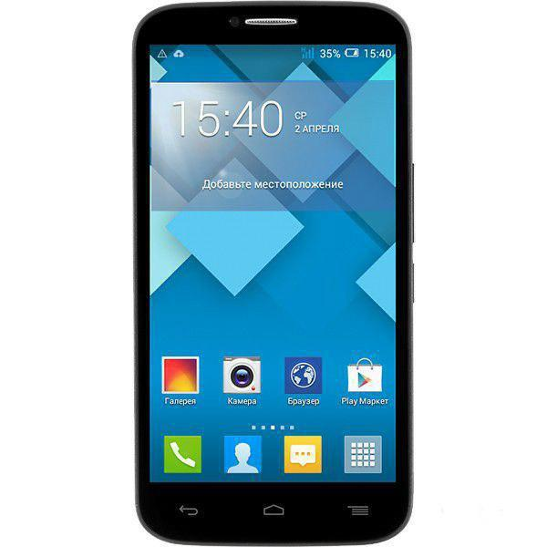 Сотовый телефон Alcatel OT7047D POP C9 Bluish Black
