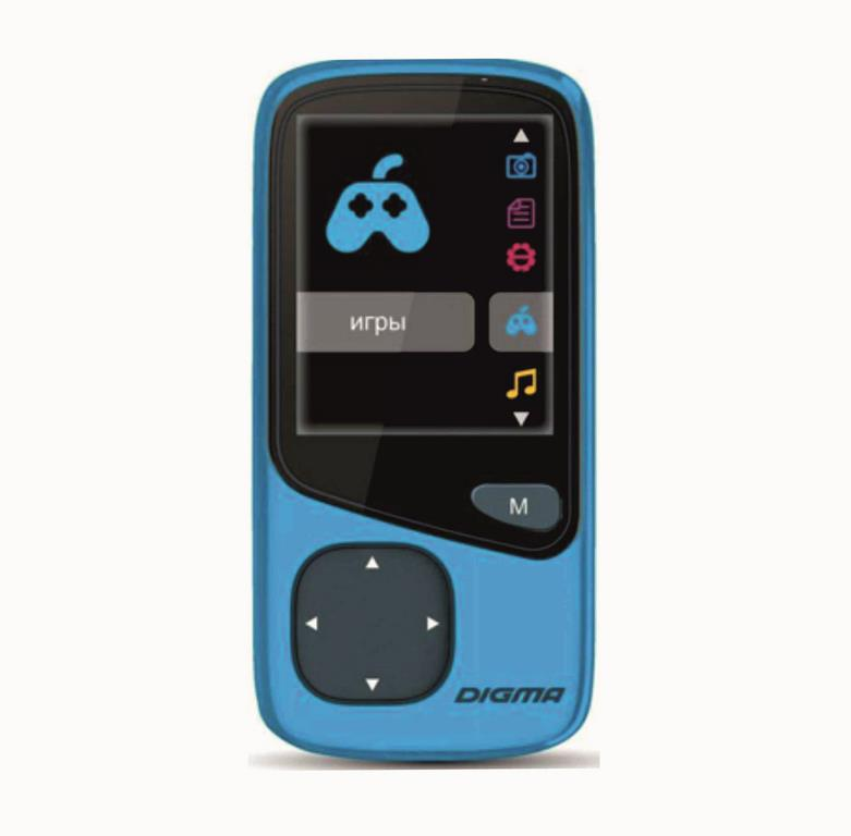 MP3 плеер Digma Cyber 1 8Gb Blue