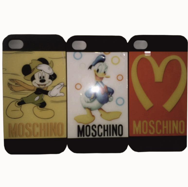 Накладка iPhone 4 Moschino (motomo)