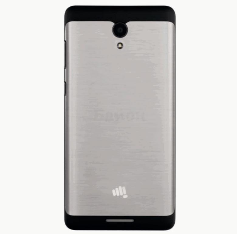 Сотовый телефон Micromax Q4202 BOLT Warrior2 Black Grey