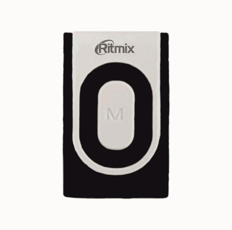 MP3 плеер RITMIX RF-2400 8 Gb black/gray