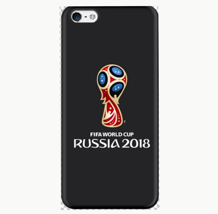 Накладка Deppa iPhone 6/6S FIFA Official Emblem черная