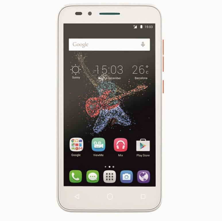 Сотовый телефон Alcatel OT7048X GO PLAY Orange White