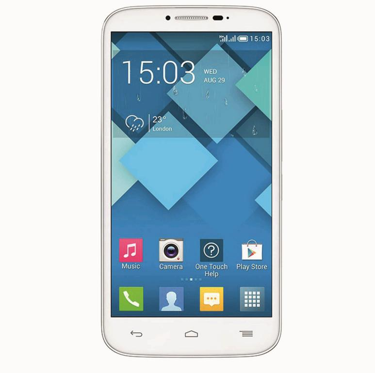 Сотовый телефон Alcatel OT7047D POP C9 Full White