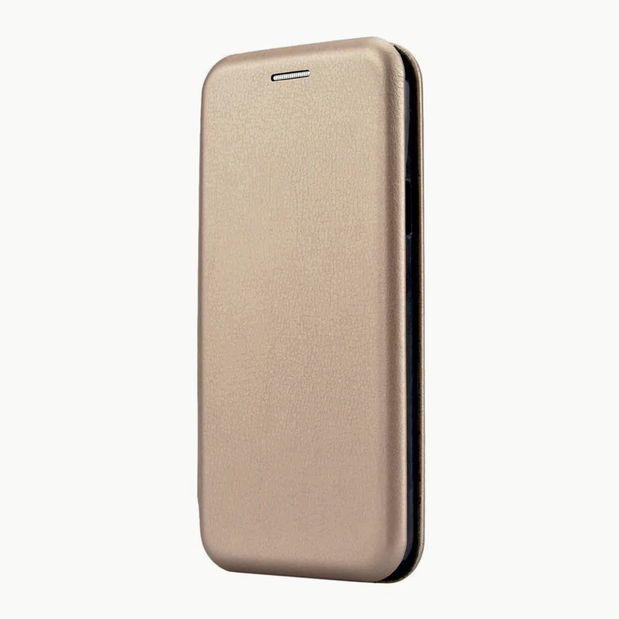 Сумка-книжка Fashion Case Samsung J330/J3 (2017) золотая
