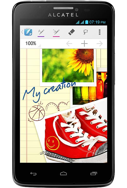 Сотовый телефон Alcatel OT8000D Scribe Easy Black