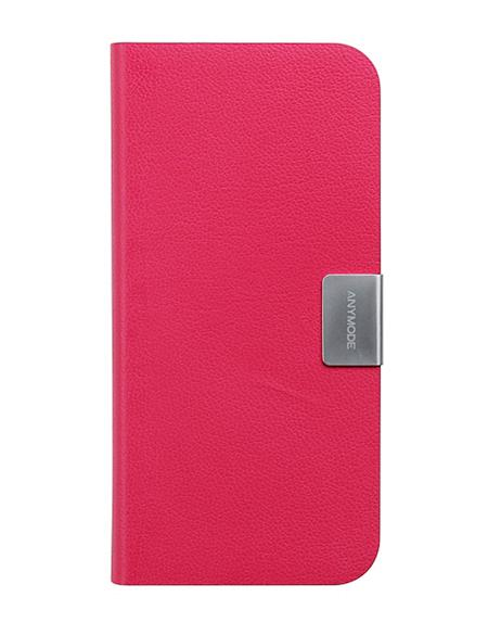 Сумка-книжка Anymode Folio Frame iPhone 5/5s розовая (BBFF006KPK)