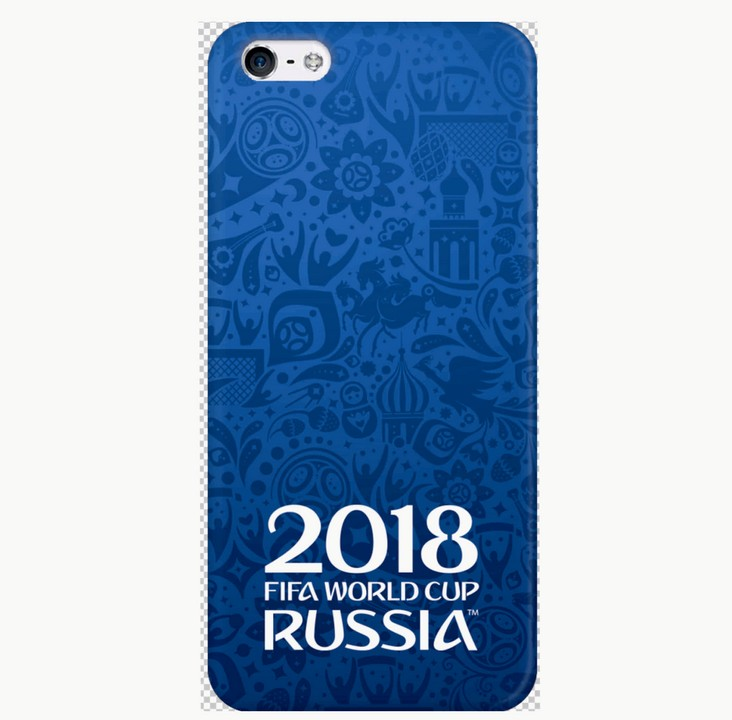 Накладка Deppa iPhone 5/5S FIFA Official Logotype синяя