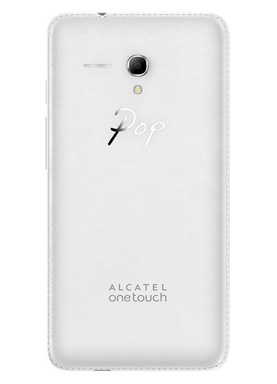 Сотовый телефон Alcatel OT5054D POP3 White Leather