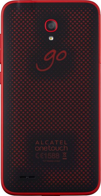 Сотовый телефон Alcatel OT7048X GO PLAY Black Dark Red