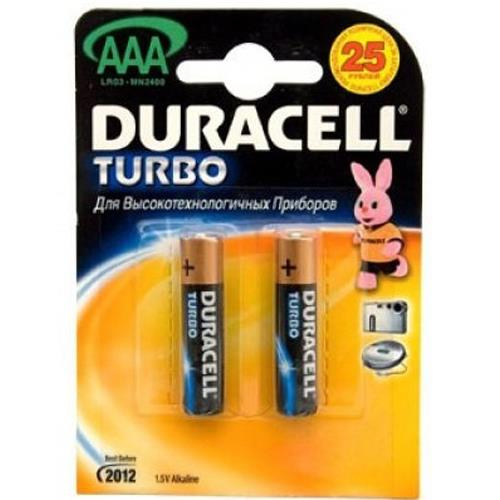 Батарея Duracell Turbo ААА (MN2400) 2шт