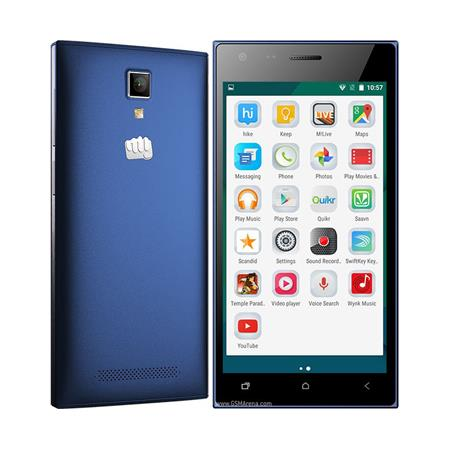 Сотовый телефон Micromax Q413 Canvas Xpress Blue