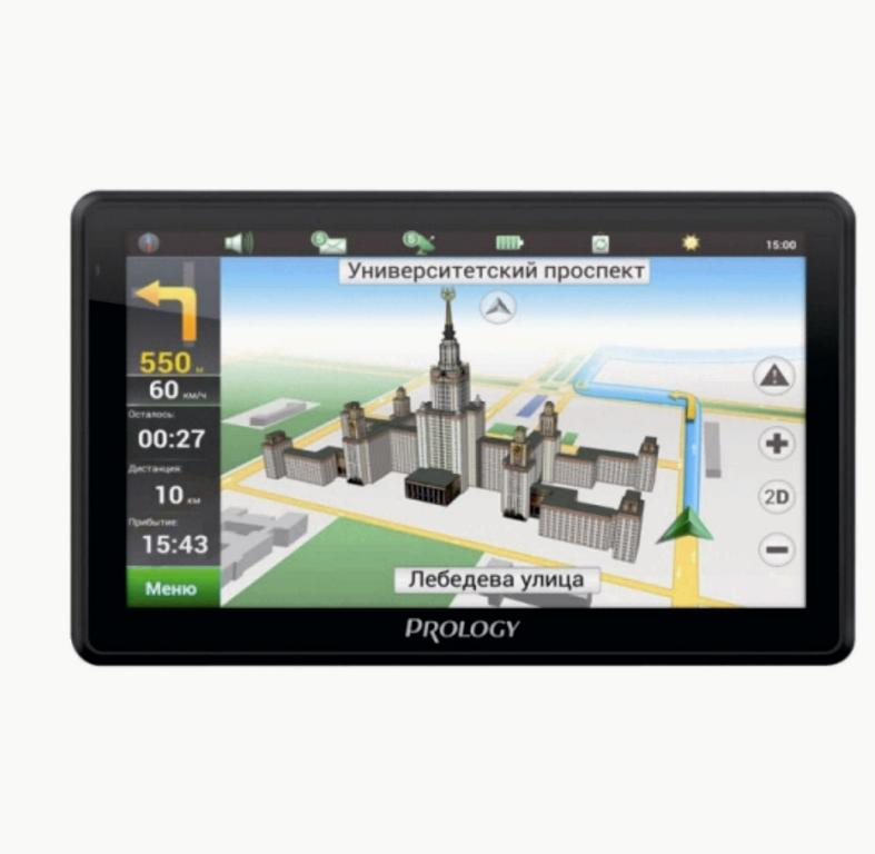 GPS навигатор Prology iMAP-7500 Black