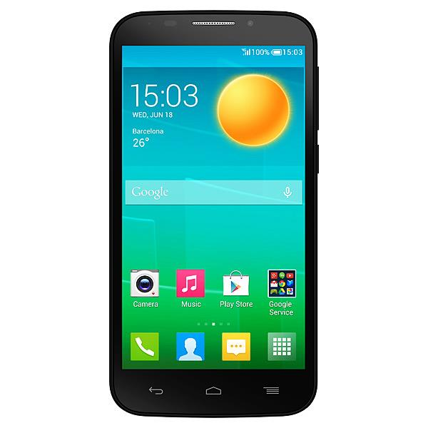 Сотовый телефон Alcatel OT7045Y POP S7  Black Fashion Blue