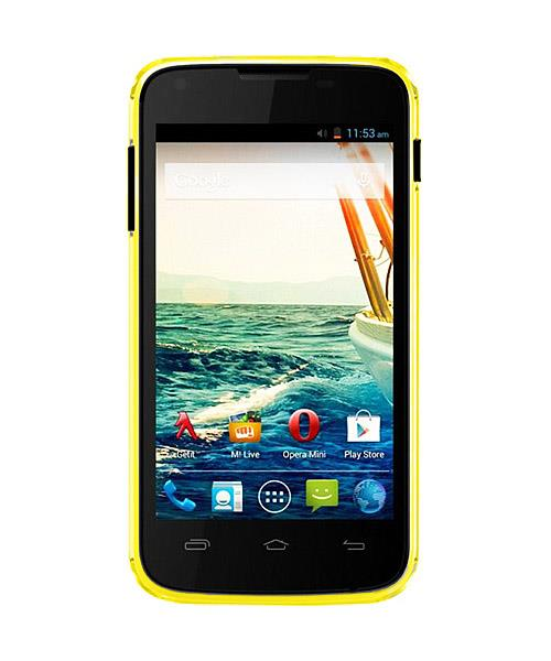Сотовый телефон Micromax A092 Canvas QUAD Yellow