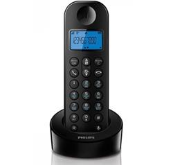 Радиотелефон Philips D2101B Black