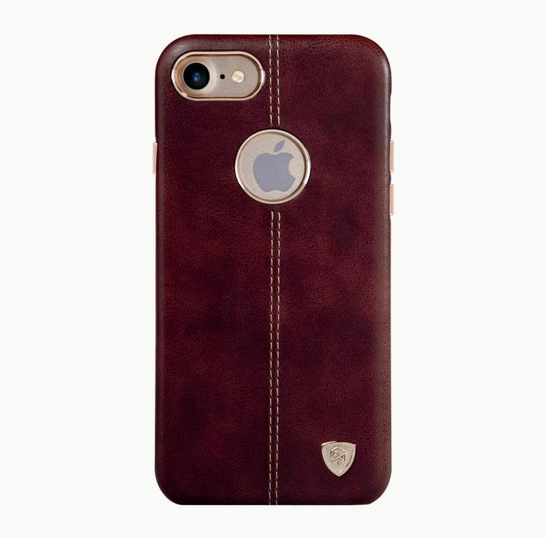 Накладка Nillkin Englon leather Cover  iPhone 7 коричневая