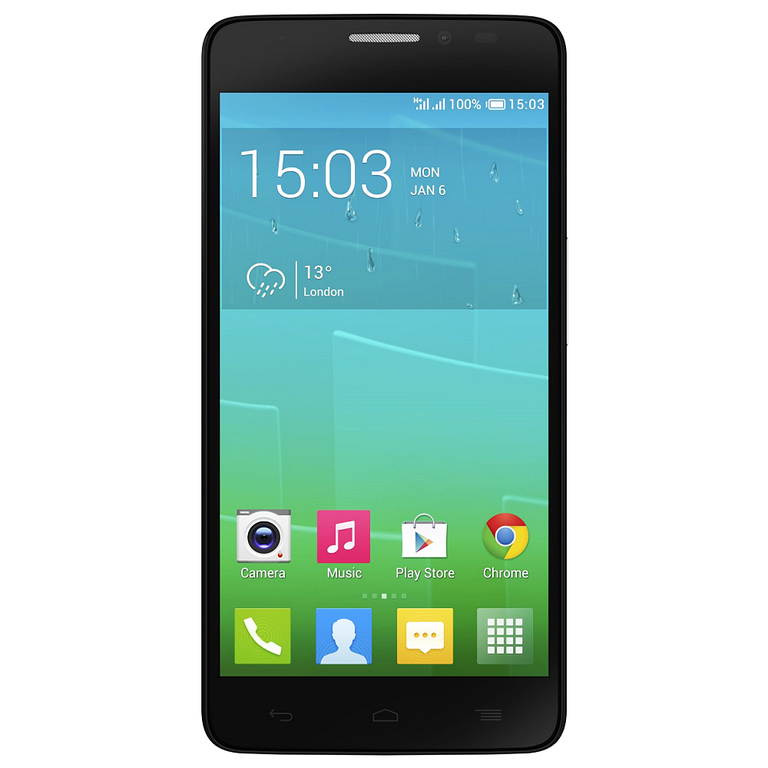 Сотовый телефон Alcatel OT6043D IDOL X+ Bluish Black