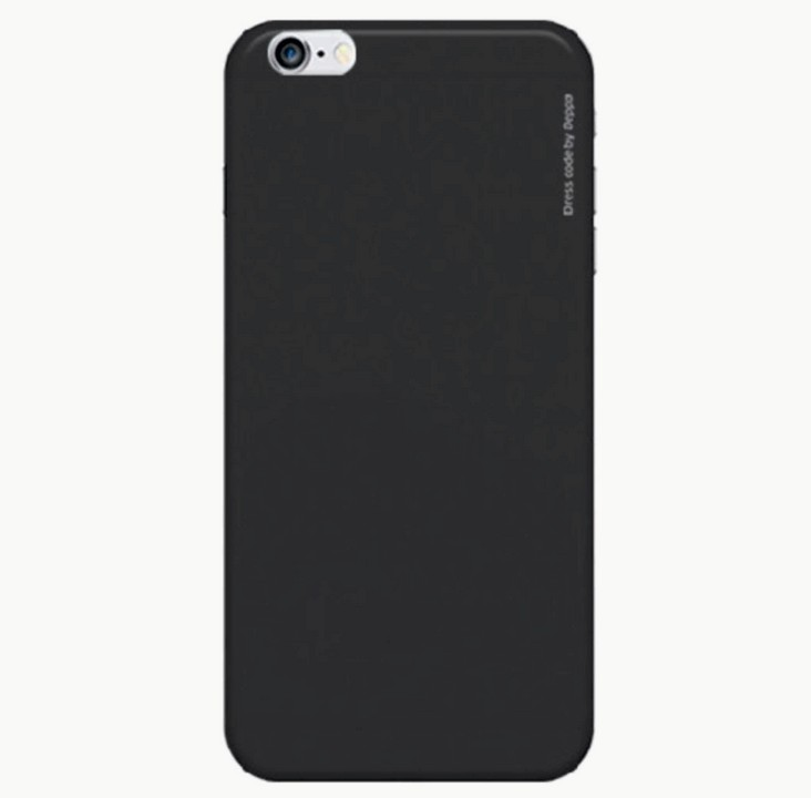 Накладка Deppa iPhone 6/6S Air Case черная