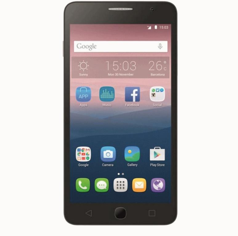 Сотовый телефон Alcatel OT5015D POP3 Black Leather