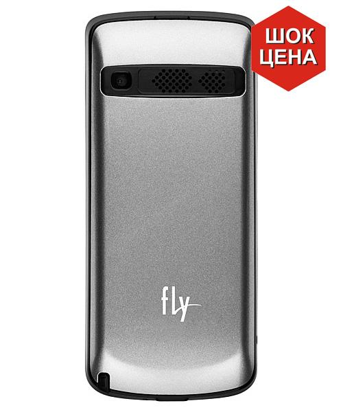 Сотовый телефон Fly TS105 titanium silver (three sim)