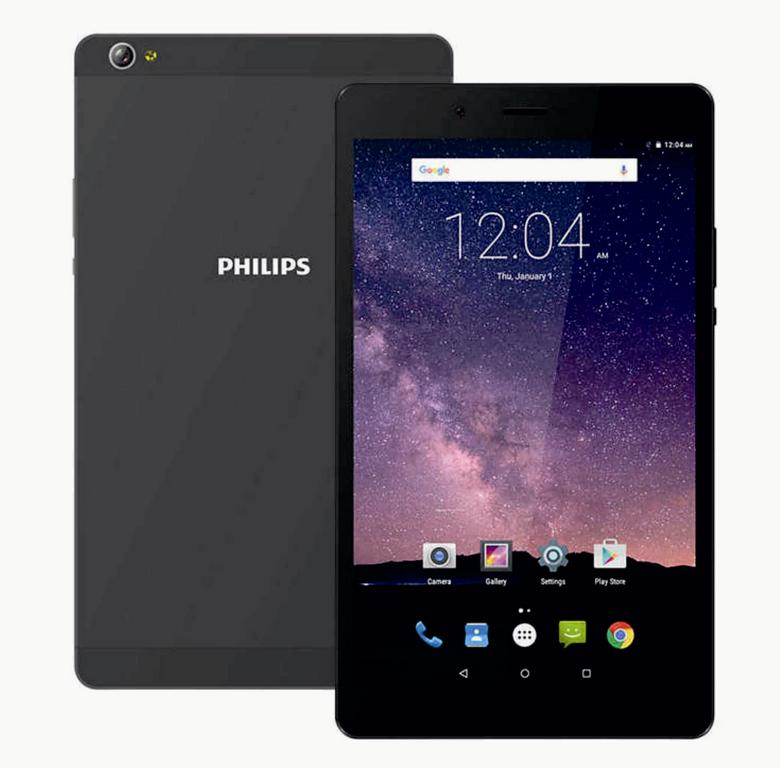 "ПК PhilipsTLE821L Tablet 8"" Gray"
