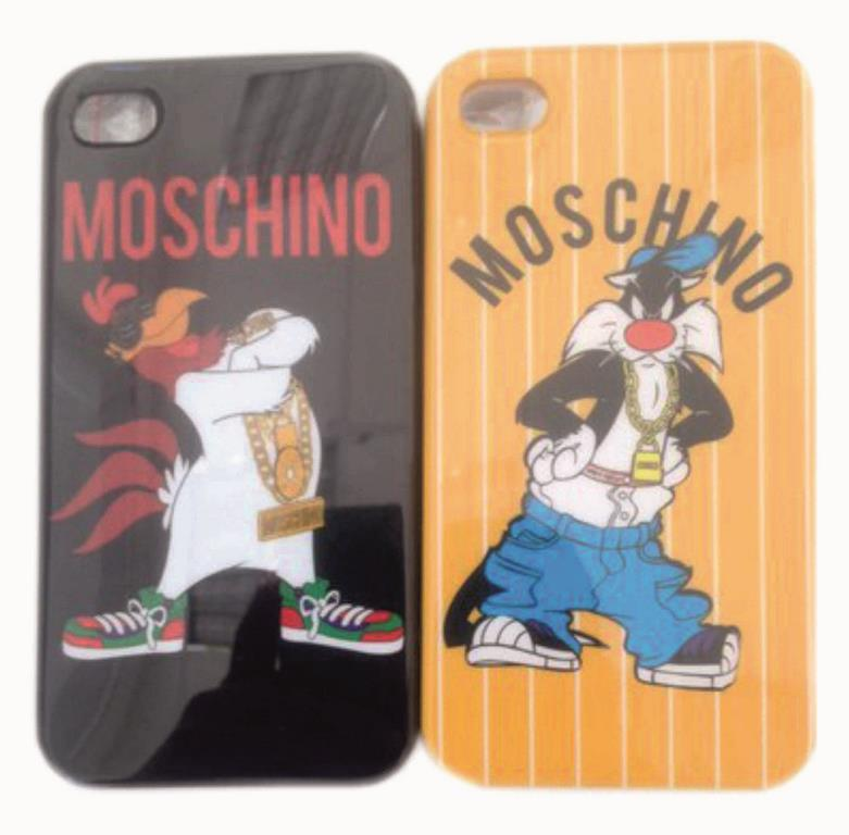 Накладка iPhone 4 Moschino мультяшки