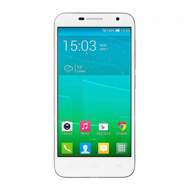 Сотовый телефон Alcatel OT6016X IDOL Slate White