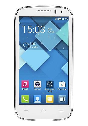 Сотовый телефон Alcatel OT5036D POP C5 Full White
