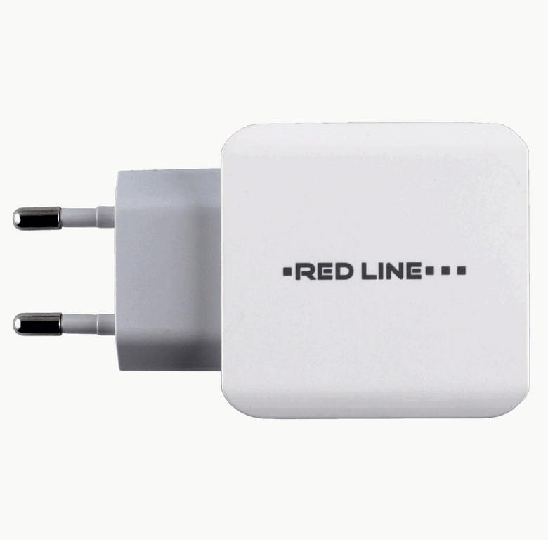 СЗУ Red Line Superior USB 3 порта 3100 mAh белое