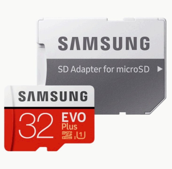 Карта памяти Samsung EVO Plus Micro SD 32 Gb (MB-MC32GA/RU)